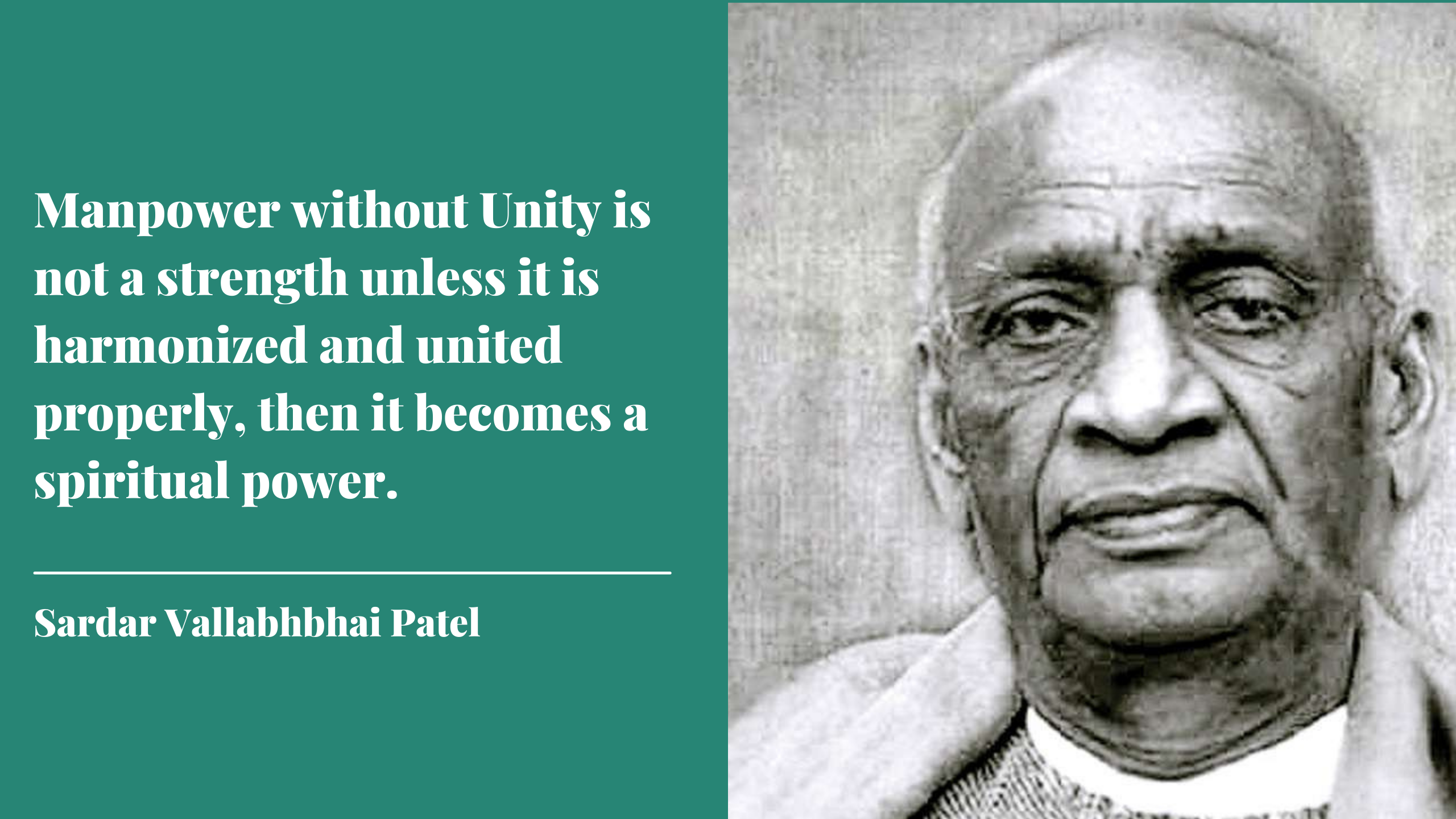 quotes by sardar patel